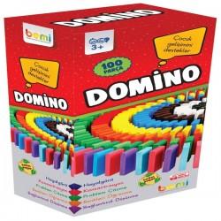 Bemi 100 lü Ahşap Domino