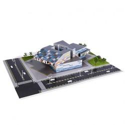 Üç Boyutlu İş Merkezi Puzzle   1/300 1+ 1 li