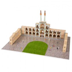 Üç Boyutlu Sultan Camisi Puzzle 1/150 1+ 1 li