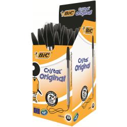 BIC Cristal Medium Tükenmez Kalem Siyah 50'li Kutu
