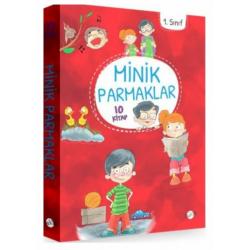 Minik Parmaklar Serisi -  10 Kitap Takım - 1. Sınıf