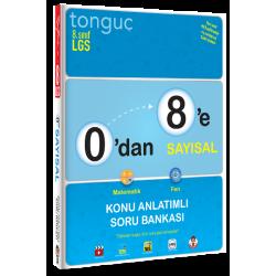 Tonguç Yayınları 0'dan 8'e Sayısal Konu Anlatımlı Soru Bankası
