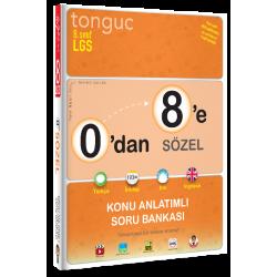 Tonguç Yayınları 0'dan 8'e Sözel Konu Anlatımlı Soru Bankası
