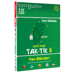 Tonguç Yayınları 8. Sınıf Fen Bilimleri Taktikli Soru Bankası
