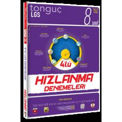Tonguç Yayınları 8. Sınıf LGS 4'lü Hızlanma Denemeleri