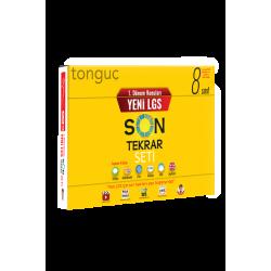 8.Sınıf Tonguç Yayınları 1. Dönem Yeni LGS Son Tekrar Seti