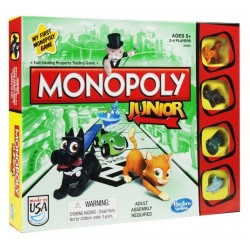 Monopoly Junior 6 Hasbro Int - A6984