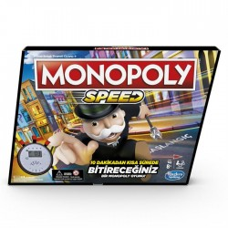 Monopoly Speed 6 Hasbro Int - E7033