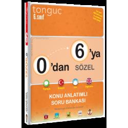 Tonguç 0'dan 6'ya Sözel Konu Anlatımlı Soru Bankası