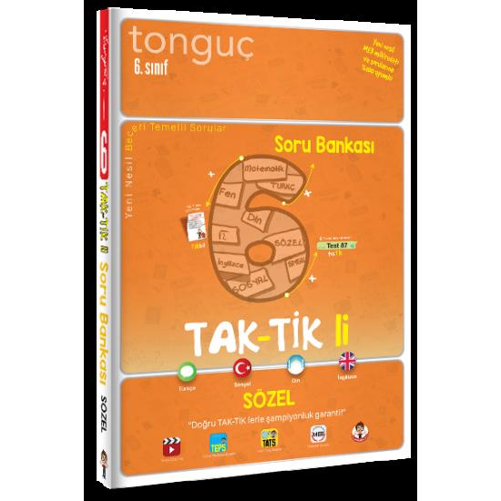 Tonguç 6. Sınıf Taktikli Sözel Soru Bankası