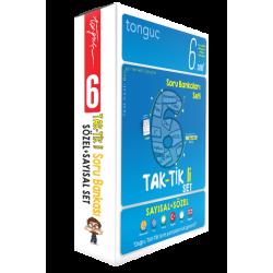 Tonguç 6. Sınıf Taktikli Tüm Dersler Soru Bankası Seti