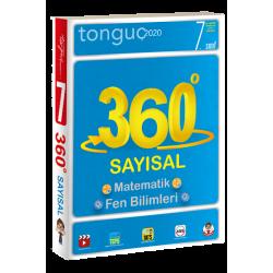 Tonguç 7. Sınıf 360 Soru Bankası Sayısal (Cep Kitap)