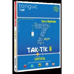 Tonguç 7. Sınıf Taktikli Sayısal Soru Bankası