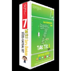 Tonguç 7. Sınıf Taktikli Tüm Dersler Soru Bankası Seti