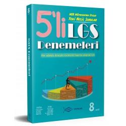 Etkin Yayınları LGS 5 Lİ Deneme (GENEL) - 8. Sınıf