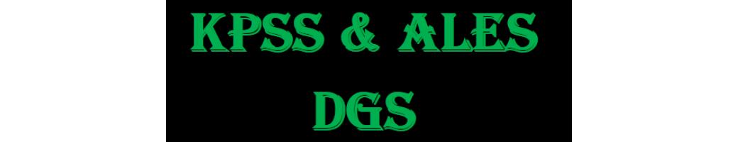 KPSS & ALES  DGS